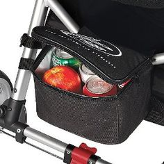 Baby Jogger Cooler Bag is designed to keep your food and drinks cool. This accessory is large enough to hold six 12 oz. drink cans or baby bottles Stroller Cup Holder, Stroller Storage, Pram Stroller, Baby Strollers, Baby Stroller Accessories, Wheelchair Accessories, Mini Cooler, Diy Snacks, Baby Jogger