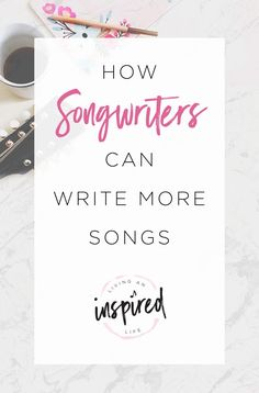 Never run out of ideas again. Here's how beef up your catalog and write more songs: | SongFancy