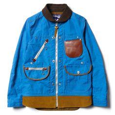 Junya Watanabe MAN x Seil Marschall Reversible Cotton Ester Canvas Paraffin Insert Hunting Jacket