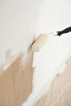 Get latex paint out