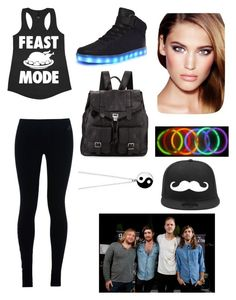 """Imagine dragons concert!!"" by rockyblues2371 on Polyvore featuring NIKE, Proenza Schouler, Charlotte Tilbury and Accessorize"