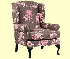 Queen Anne Chair Slipcover - Home Furniture Design Wingback Chair, Armchair, Home Furniture, Furniture Design, Queen Anne Chair, Slipcovers For Chairs, Accent Chairs, Home Decor, Sofa Chair
