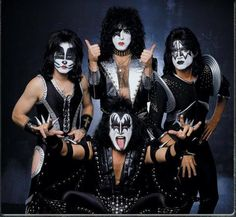 KISS. Just saw these guys in concert! Bought a last minute ticket and flew solo. Mötley Crüe opened. They put on a FANTASTIC show!!! The Crüe was on point as well. Had an absolute blast!! A.R.