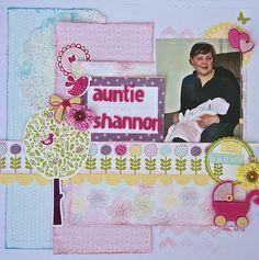 Auntie Shannon - Scrapbook.com