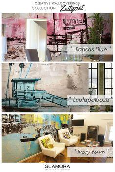 Zeitgeist | Vintage Wallcovering & Carta da Parati | Collection by Glamora