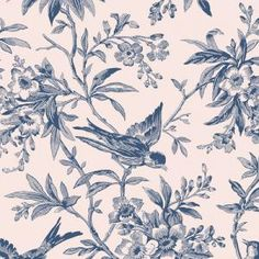 Old Country Store Fabrics - Andover - Blue Variety - A-3094-LB