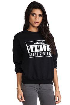 HOMIES SOUTH CENTRAL ADVISORY SWEATSHIRT by brian lichtenberg BLTEE Top Size XS #Brianlichtenberg #SweatshirtCrew