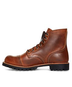 Red Wing for Brooks Brothers 4556 Iron Ranger BootsBrown