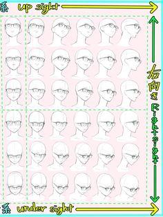 anatomy tutorial head + Drawings ~ anatomy tutorial step by step Drawing Heads, Body Drawing, Anatomy Drawing, Drawing Base, Art Drawings, Head Anatomy, Girl Anatomy, Human Figure Drawing, Figure Drawing Reference