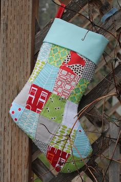How to: Good tutorial with pictures on how to line a Christmas ... : quilted stocking patterns - Adamdwight.com
