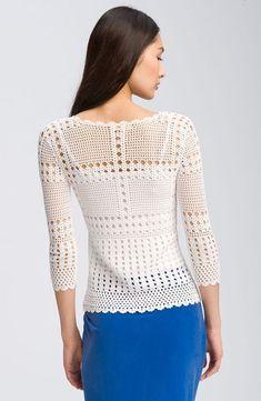 Crinochet: maglietta semplice e raffinata 2 Aparte Modelle, Anleitung für Profis