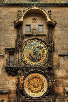 Prague Clock - I've been there ! It's awesome ! :)
