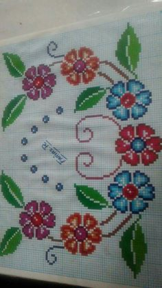 Cross Stitching, Cross Stitch Embroidery, Cross Stitch Patterns, Coloring Pages To Print, Cross Stitch Flowers, Christmas Cross, Needlework, Diy And Crafts, Crochet