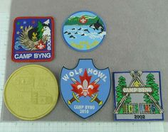 Lot of 5 Boy Scout Badges Patches Camp Byng 2002 to 2015 Canada Cub Scout Patches, Boy Scout Badges, Scouts Of America, Vintage Boys, Merit Badge, Bible For Kids, Winter Camping, Cub Scouts, Online Deals