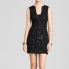 New free people sequin bodycon dress New free people sequin bodycon dress with tags in black, open back, bloggers favorite Free People Dresses Mini