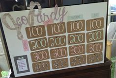 Fun and easy game to play at a bachelorette party ! http://www.coffeeandacontour.com/bachelorette-party-game-freebie-jeopardy/