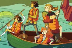 'Girl' Is Not A Personality Type. An Interview With The Creators of 'Lumberjanes' #WeAreWakanda