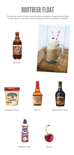 Rootbeer Float Cocktail