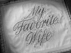 My favorite wife
