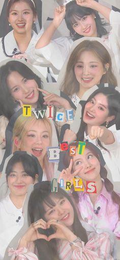 K Pop Wallpaper, Wallpaper Iphone Cute, Cute Wallpapers, Kpop Girl Groups, Korean Girl Groups, Kpop Girls, Aesthetic Indie, Aesthetic Girl, Twice Group