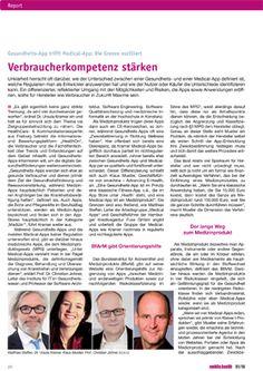 """In der aktuellen Ausgabe der Fachzeitschrift #PharmaRelations steht unser Geschäftsführer Klaus Mueller zum Thema """"Gesundheits-App trifft Medical-App"""" Rede und Antwort.  https://www.xmachina.de/news/artikel/klaus-mueller-im-interview-mit-der-fachzeitschrift-pharma-relations/  #xmachinaEHealth #Gesundheitsapp #MedicalApp #MobileHealth"""