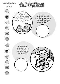 [Tags] 100 atividades Educativas para imprimir sobre emoções