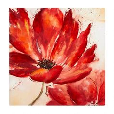 Add some fresh flowers to your home with our canvas wall art. Featuring a dimensional lacquer gel finish, it creates a stylish focal point for your decor.