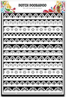 472.948.020 Dutch Doobadoo Paper Art A5  Borders