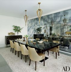 Mirrors The quickest way to make a room appear larger is to incorporate mirrors, which reflect light and create the illusion of additional space. A wall of mirrored panels, such as the antiqued examples shown above, also impart worldly patina and sleek sophistication.