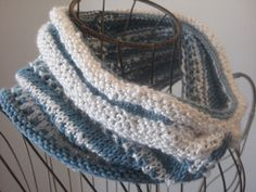 Free Pattern: Porcelain Moon Cowl - Balls to the Walls Knits