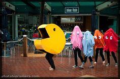 5 Pacman | Kostüm-Idee für Gruppen zu Karneval, Halloween & Fasching