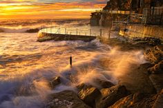 Great landscape photo taken by AtomicZen on the Bronte Beach, Sydney, Australia Scenic Photography, Color Photography, Landscape Photography, Photography Equipment, Amazing Photography, Pictures Images, Cool Pictures, Cool Photos, Beautiful Pictures
