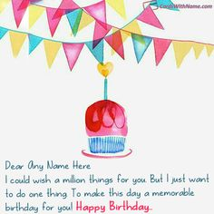 Online Birthday Wishes With Name Photo Maker On Best Generator And Send Printable Happy Cards Editing Options