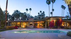 Kirk Douglas's Midcentury Estate in Palm Springs Up For Sale - Curbed LA