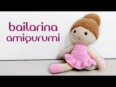 Bailarina amigurumi (crochê) - YouTube