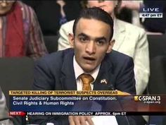 This gentleman tells a senate subcommittee the effects of drone attacks on Wessab, a small village in the mountains of Yemen. VERY ENLIGHTENING.