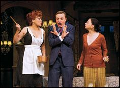 """""""For the most part, Tillinger goes for the standard routines to pile on the comic chaos...""""--Variety. Check out all of the reviews for Don't Dress for Dinner on Broadway here: http://www.curtaincritic.com/Shows/DON_T_DRESS_FOR_DINNER_REVIEWS-147.html"""