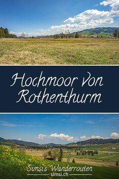 Rothenthurm war einst eine verarmte Gegend. Dann wurde Torf als Brennstoff zum schwarzen Gold. Nach der sogenannten Rothenthurm-Initiative steht diese schöne Landschaft unter Schutz. Hill Walking, Black Gold, Beautiful Landscapes, Nice Asses