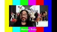 Marcus Baby e bonecos no Memória Teledramatúrgica - 02/07/2018