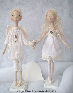 """Ароматизированные куклы ручной работы. Ярмарка Мастеров - ручная работа. Купить """"Да хранят Вас Ангелы!!"""". Handmade. Ангелы"""