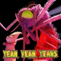 Indie Rock, Yeah Yeah Yeahs. 2013. Typography and color.