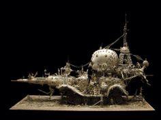 "Kris Kuski ""found"" art"