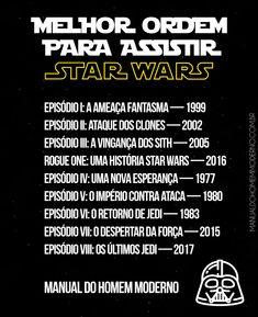 Melhor ordem para assistir Star Wars. Ver Star Wars, Star Wars Art, Series Movies, Movies And Tv Shows, Movie Theater, Movie Tv, Star Wars Poster, About Time Movie, Film Serie