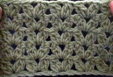 Crochet Cluster V Stitch | Crochet Geek - Free Instructions and Patterns