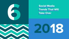A new year means new social media trends for 2018. Let's take a look at our crystal ball and see what's in store for the industry in 2018.