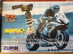 #muposuspension von #zupinmotosport im #gsxr1000cup #zupinfitsyourbike #reitwagen