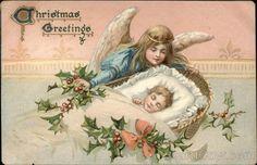 Christmas Greetings Angels