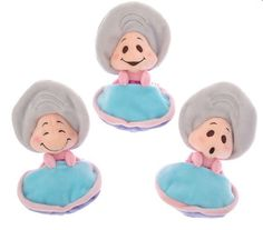 #Disney Store Japan Young Oyster 3 Plush Dolls Alice In Wonderland 16cm Toy from $64.5