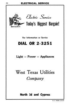1960 WTU ad