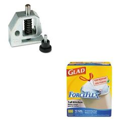 KITCOX70427SWI74854 – Value Kit – Swingline Replacement 9/32 Punch Head for Two- to Four- and Three-Hole Paper Punches (SWI74854) and Glad ForceFlex Tall-Kitchen Drawstring Bags (COX70427)